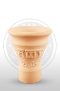 Чаша для кальяна из глины 006