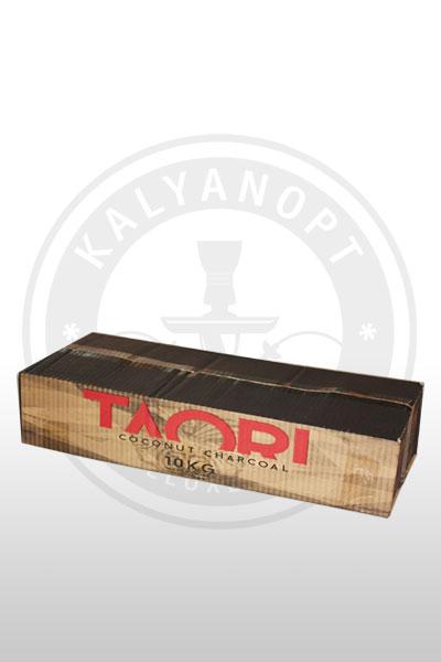 Кокосовый уголь TAORI 10kg (10x1)